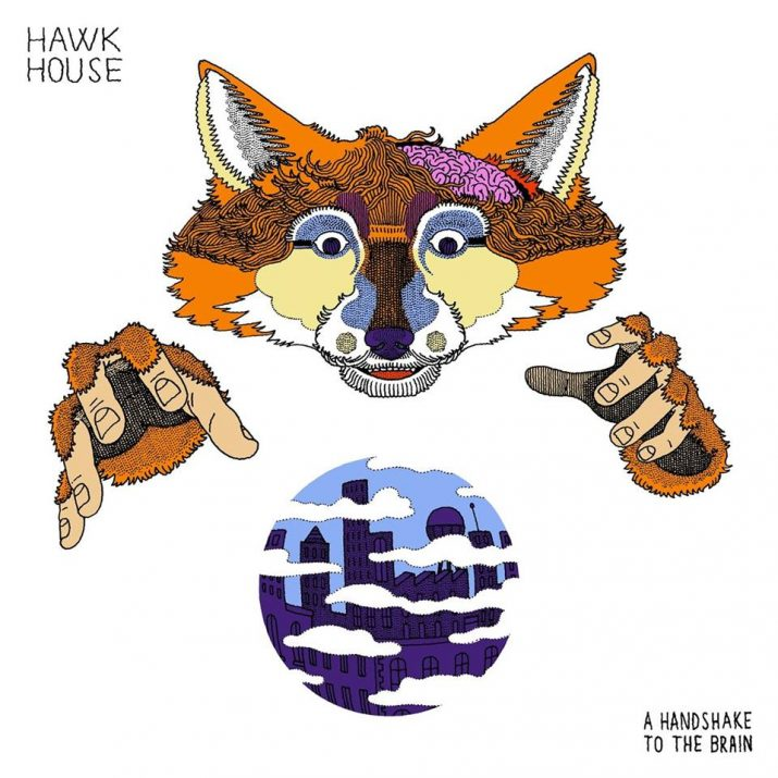 Hawk House Returns With A  Full Stream Of Their Forthcoming 'A Handshake To The Brain' EP Ahead Of The Project's June 23rd Release.